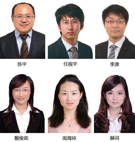 由陈宇,任视宇,李源,殷俊茹,周海琼,赫词组成律师团队为商会提供综合
